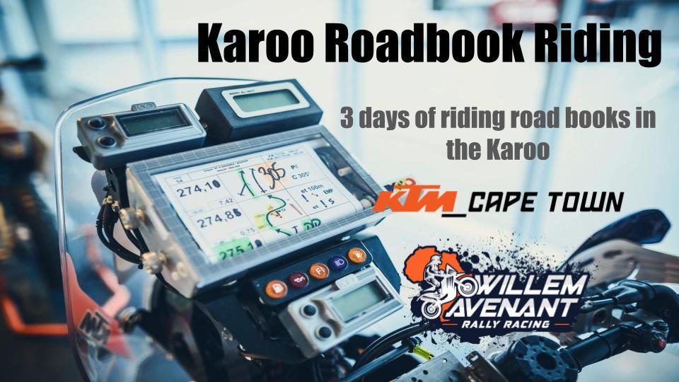 Karoo Roadbook Practise Camp 2021